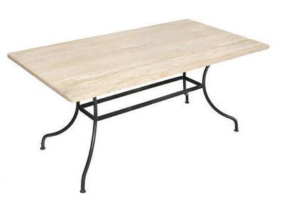 Marbrerie Rouillon - Table de jardin-Marbrerie Rouillon-LUBERON