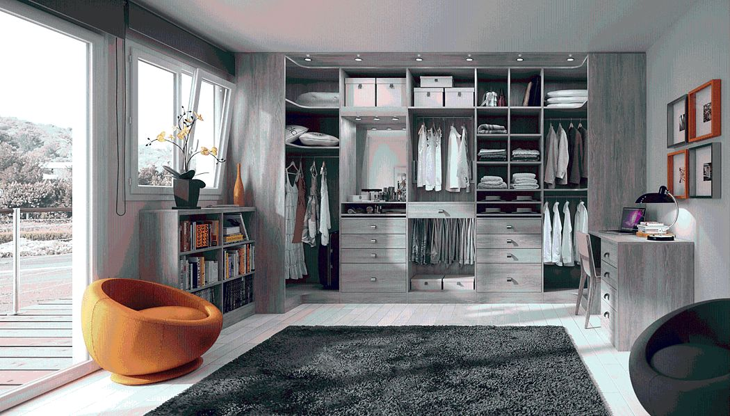 Sifisa Straight Walk-in Closet Dressing rooms Wardrobe and Accessories  |