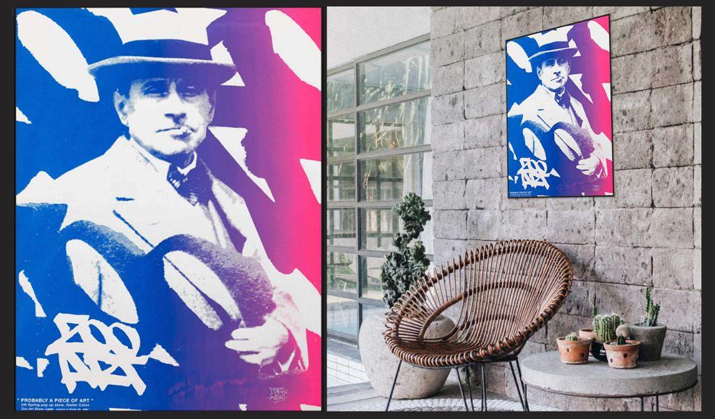 ATELIER COTON Silk screen print Painting reproduction Art  |