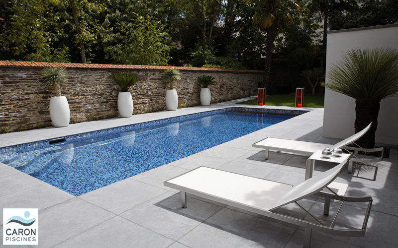 CARON PISCINES Conventional pool Swimming pools Swimming pools and Spa Garden-Pool | Contemporary