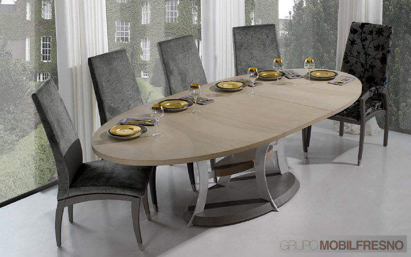 MOBIL FRESNO - AlterNative Oval dining table Dining tables Tables and Misc. Dining room | Contemporary