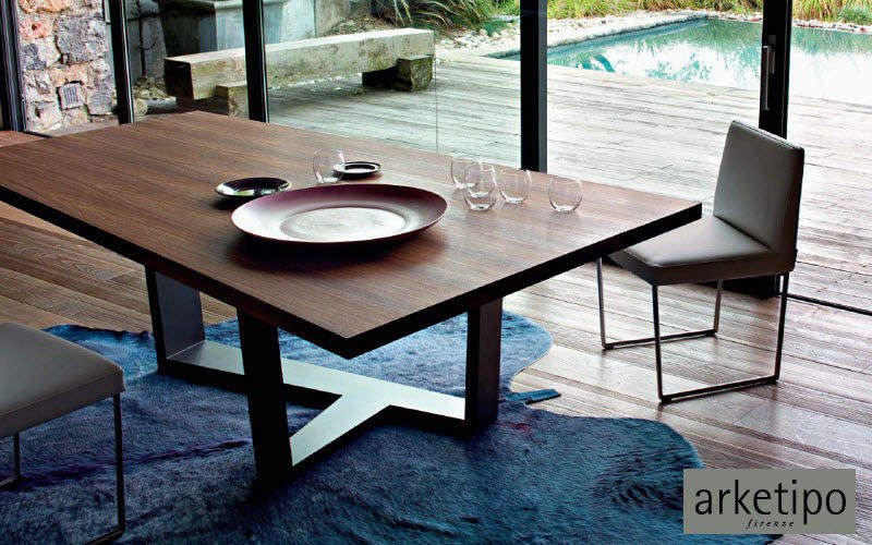 Arketipo Rectangular dining table Dining tables Tables and Misc. Dining room | Contemporary