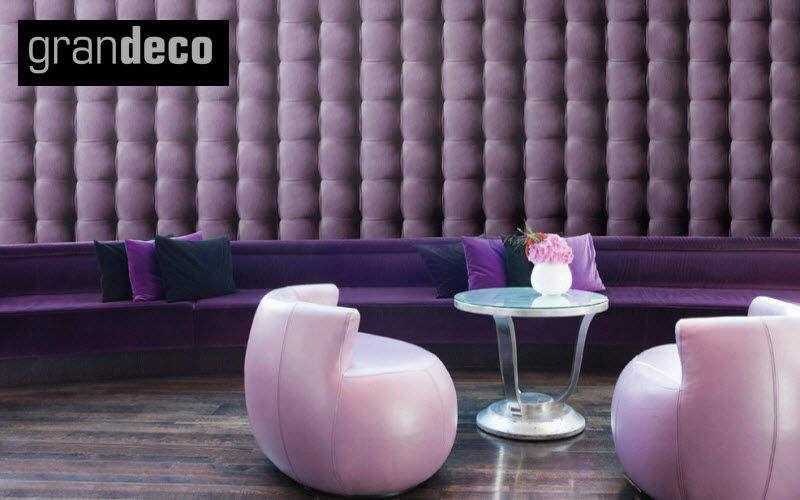 GRANDECO Wallpaper Wallpaper Walls & Ceilings Workplace | Eclectic
