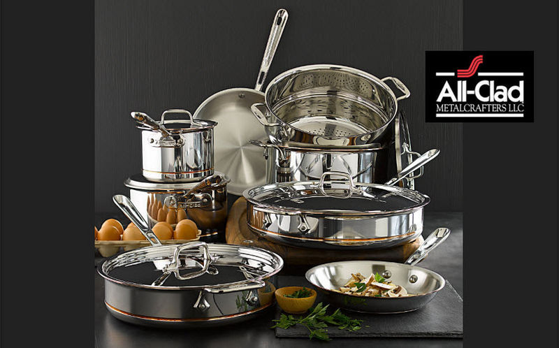 All-Clad Cookware set Casseroles Cookware Kitchen | Design Contemporary