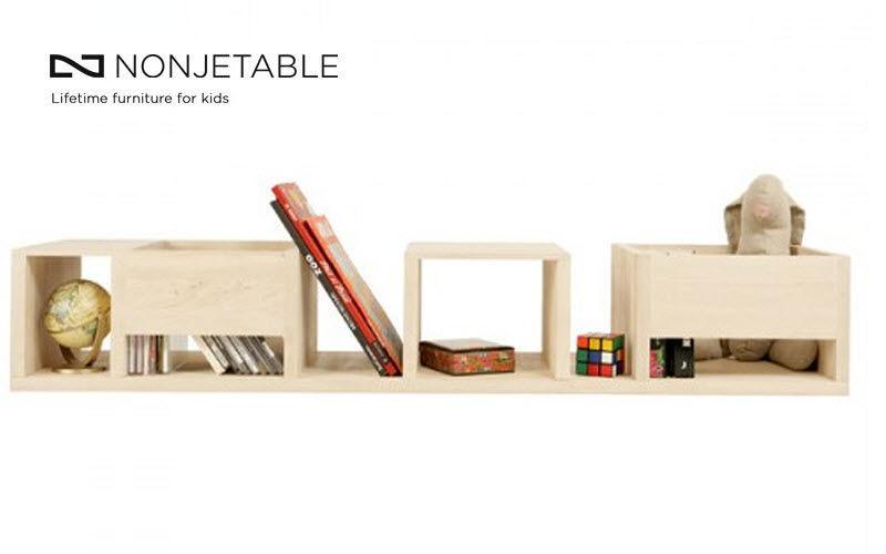 Nonjetable Children's shelf Storage (Children) Children's corner Kid's room | Design Contemporary