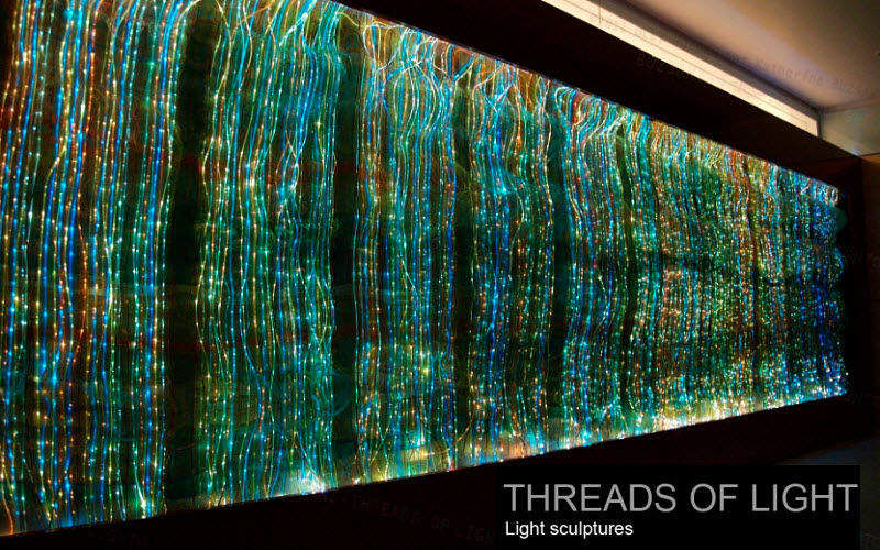Threads of Light Decorative illuminated object Luminous objects Lighting : Indoor  |