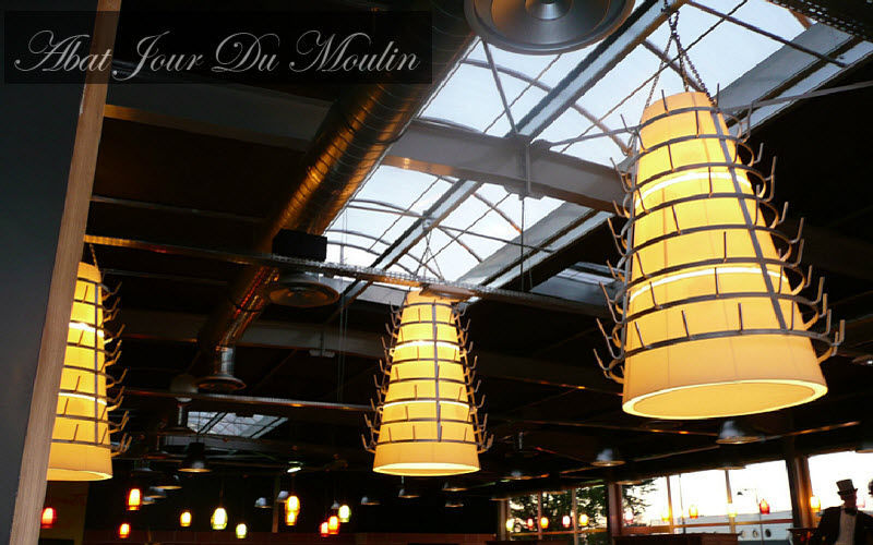 Abat Jour Du Moulin Outdoor hanging lamp Outdoor Lanterns Lighting : Outdoor Public space |