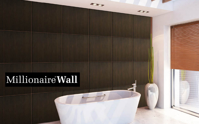 MILLIONAIRE WALL Wall covering Wall Coverings Walls & Ceilings Bathroom   Design Contemporary