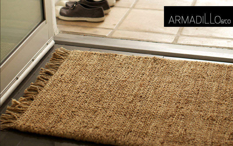 Armadillo and Doormat Doormats Carpets Rugs Tapestries Entrance | Cottage