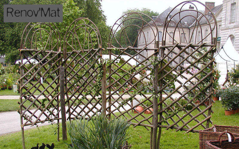 PARQUETS ET CHEMINÉES Trellis Enclosures and trellis-work Garden Gazebos Gates...  |
