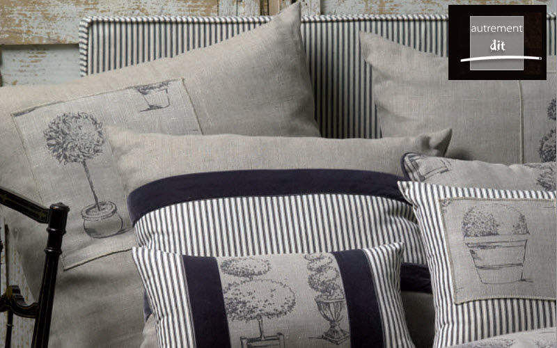 AUTREMENT DIT Cushion cover Pillows & pillow-cases Household Linen   
