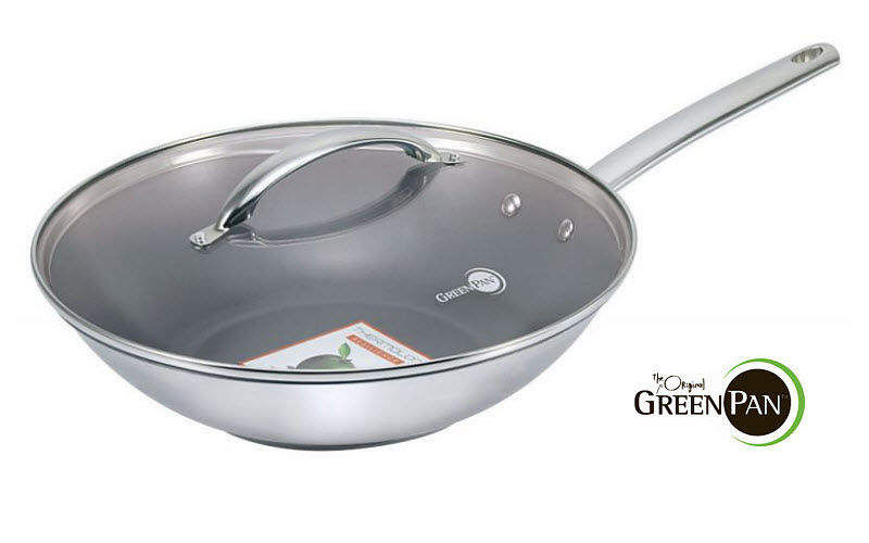 GreenPan Wok Casseroles Cookware  |