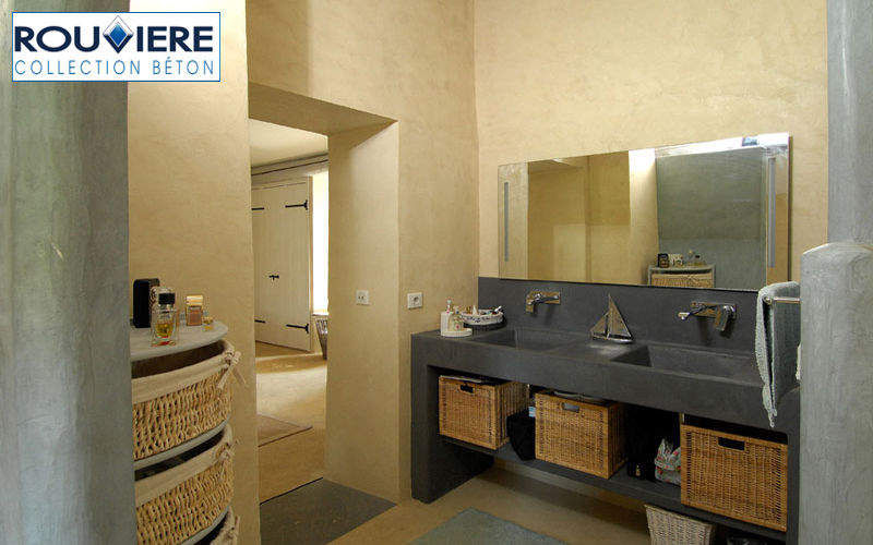 Rouviere Collection Waxed concrete for wall Alternative wall surfaces Walls & Ceilings   