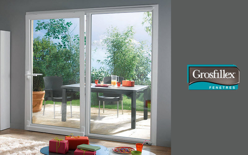 Grosfillex fenêtres Sliding patio door French windows Doors and Windows  |
