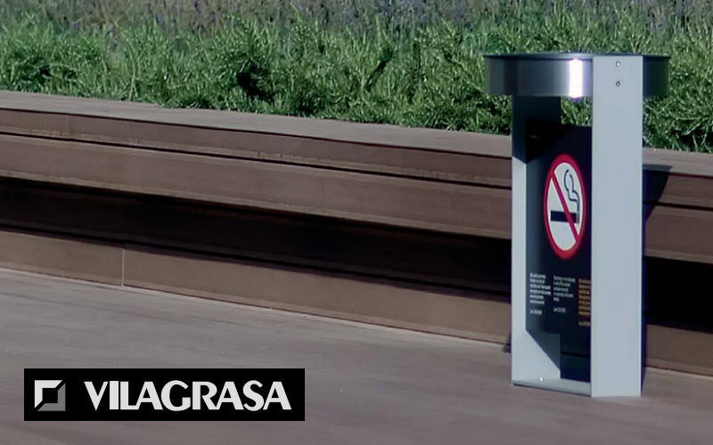VILAGRASA Urban public ashtray Street furniture Outdoor Miscellaneous  |