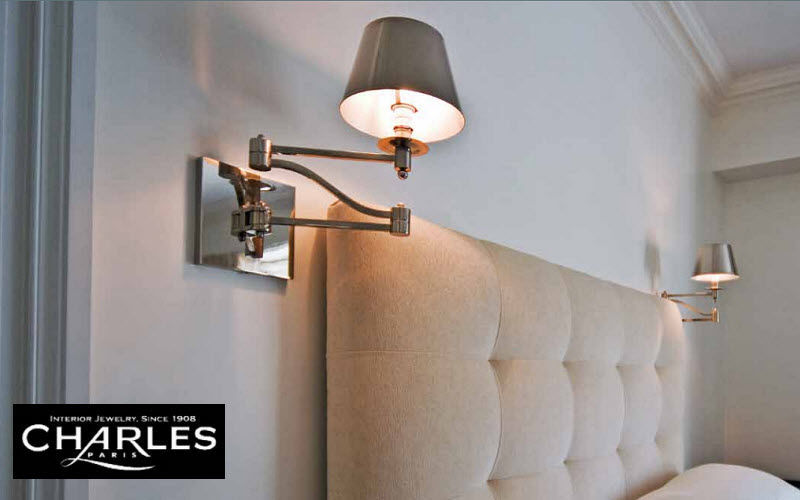 Charles Luminaires Adjustable wall lamp Interior wall lamps Lighting : Indoor  | Classic