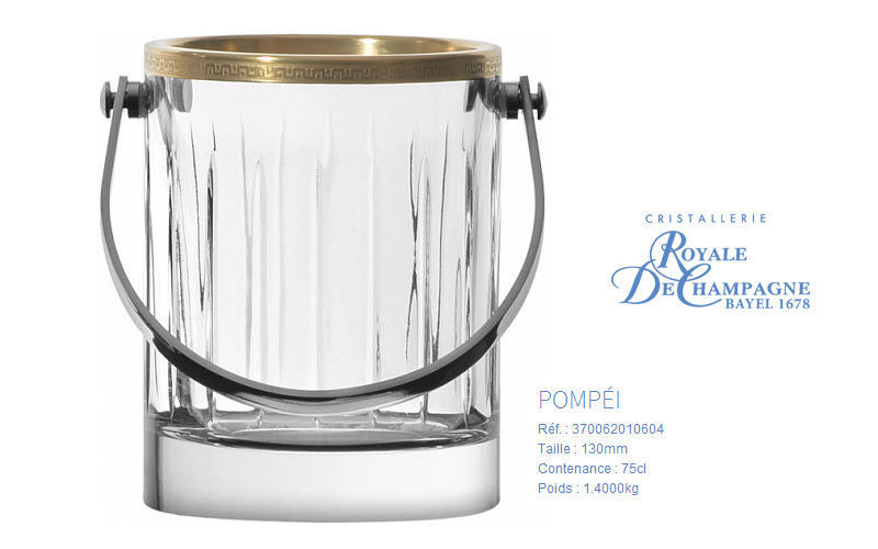Cristallerie Royale De Champagne Ice bucket Drink cooling Tabletop accessories  |