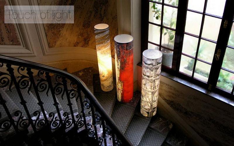 TOUCH OF LIGHT Illuminated column Lamp-holders Lighting : Indoor  |