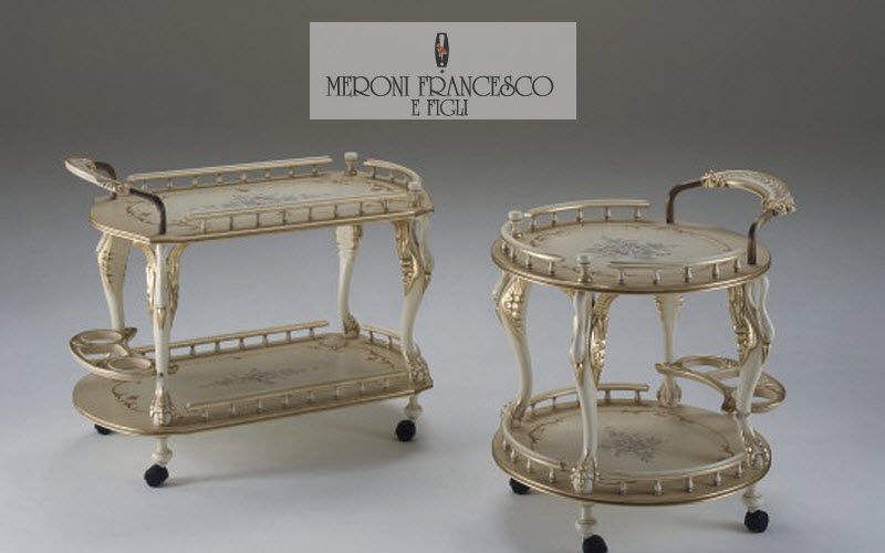 Meroni Francesco Table on wheels Chariots and tables on wheels Tables and Misc.  | Classic