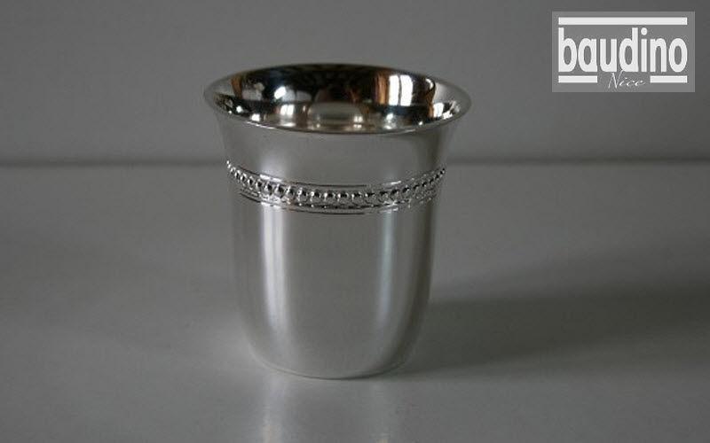 ORFEVRERIE BAUDINO Metal cup Glasses Glassware  |