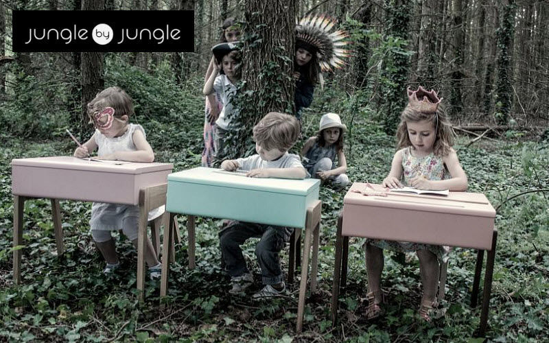 jungle by jungle Children's desk Children's Tables and desks Children's corner  |