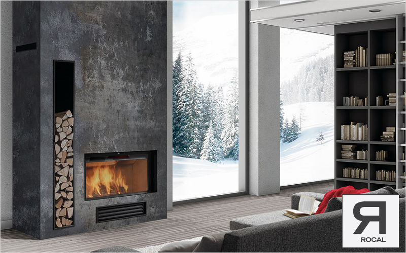 ROCAL Closed fireplace Fireplaces Fireplace  |
