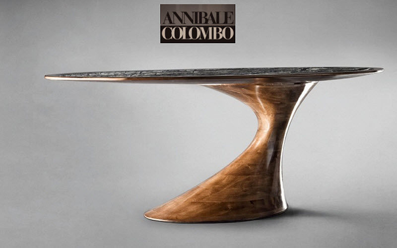 ANNIBALE COLOMBO Oval dining table Dining tables Tables and Misc.  |