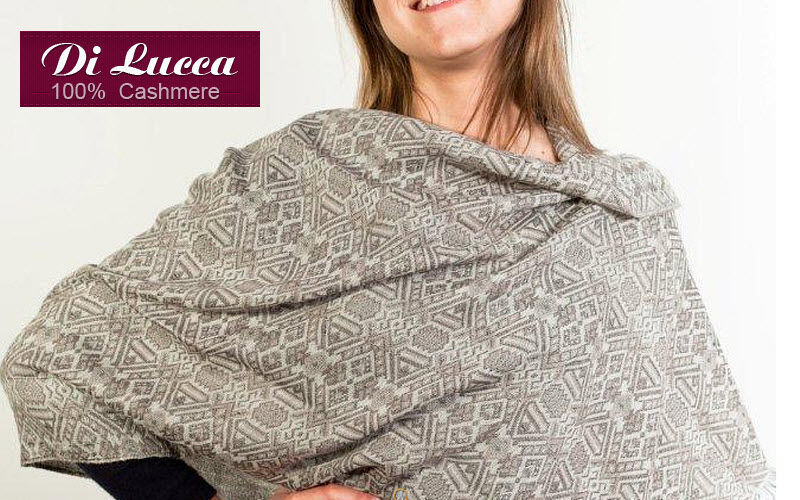DI LUCCA 100% CASHMERE Stole Clothing Beyond decoration  |