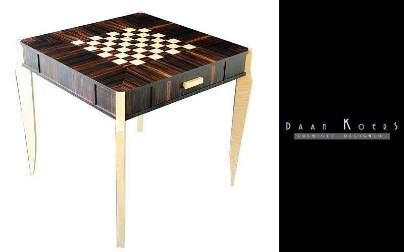 DAAN KOERS ÉBÉNISTE Games table Games table Tables and Misc.  |
