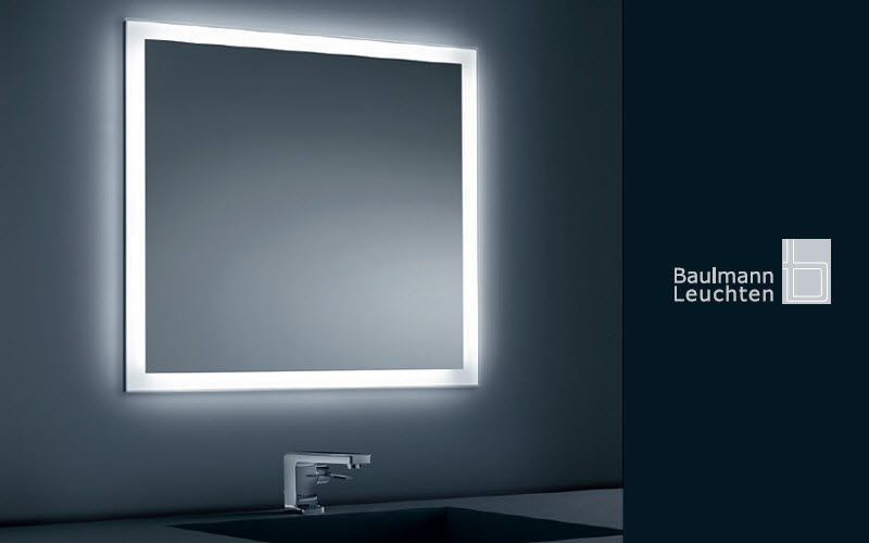 BAULMANN Illuminated mirror Mirrors Bathroom Bathroom Accessories and Fixtures   