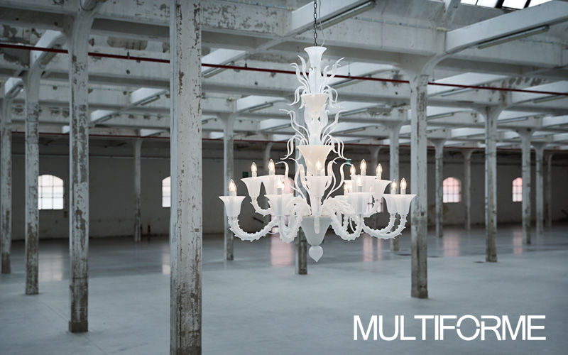 MULTIFORME Chandelier Murano Chandeliers & Hanging lamps Lighting : Indoor  |