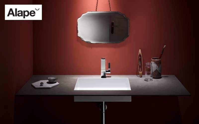 Alape Washbasin counter Sinks and handbasins Bathroom Accessories and Fixtures Bathroom | Design Contemporary