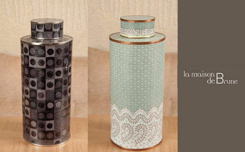 La maison de Brune Tea box Preserves (Containers-Pots-Jars) Kitchen Accessories  |