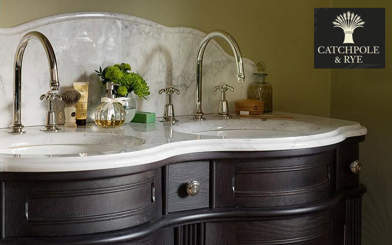 Catchpole & Rye Double basin unit Bathroom furniture Bathroom Accessories and Fixtures  |