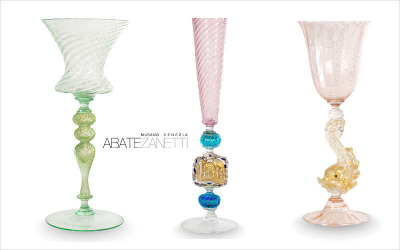 Abate Zanetti Goblet Glasses Glassware   