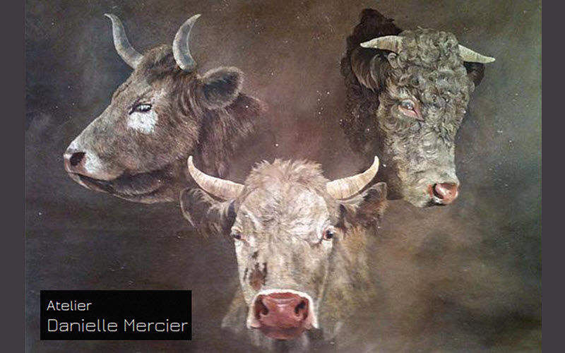 Danielle Mercier Decorative painting Paintings Art  |