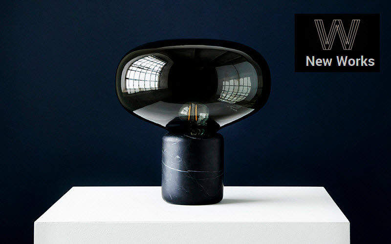 NEW WORKS Desk lamp Lamps Lighting : Indoor  |