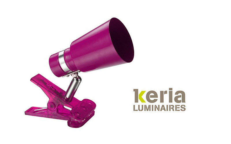 Keria Clip-on spotlight Lights spots Lighting : Indoor  |