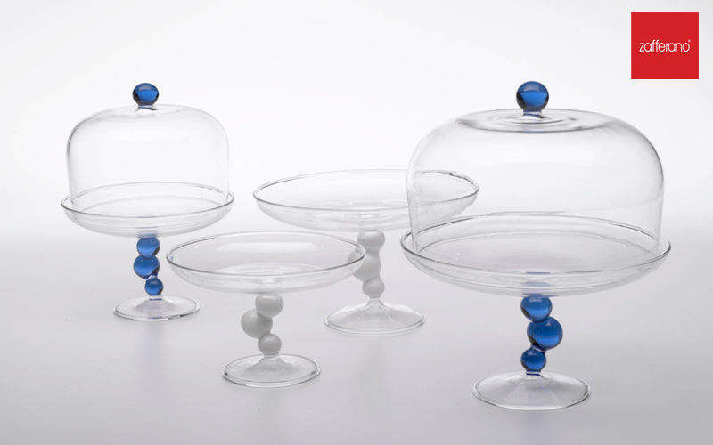 Zafferano Cake Glass Dome Dish covers Tabletop accessories  |