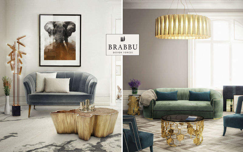BRABBU DESIGN FORCES 2-seater Sofa Sofas Seats & Sofas Living room-Bar | Design Contemporary