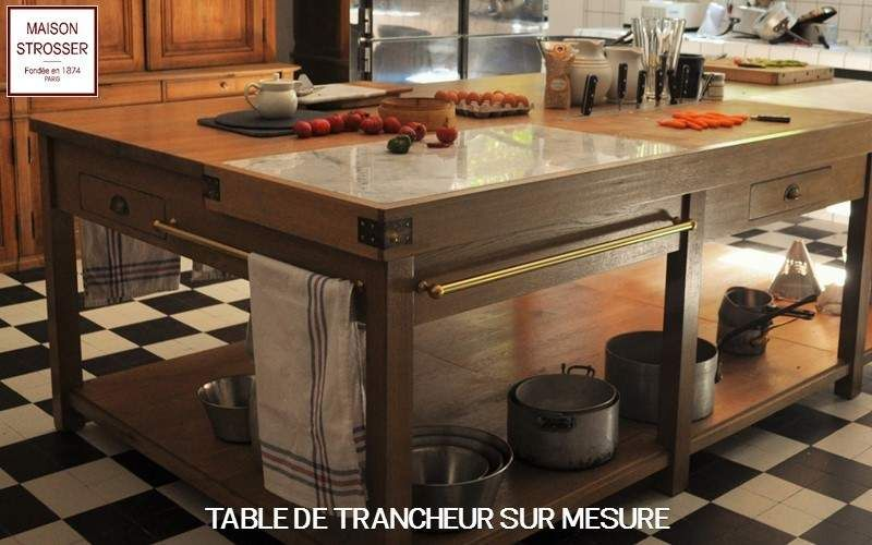 Maison Strosser Butchers' block Chopping blocks & stands Kitchen Equipment  |