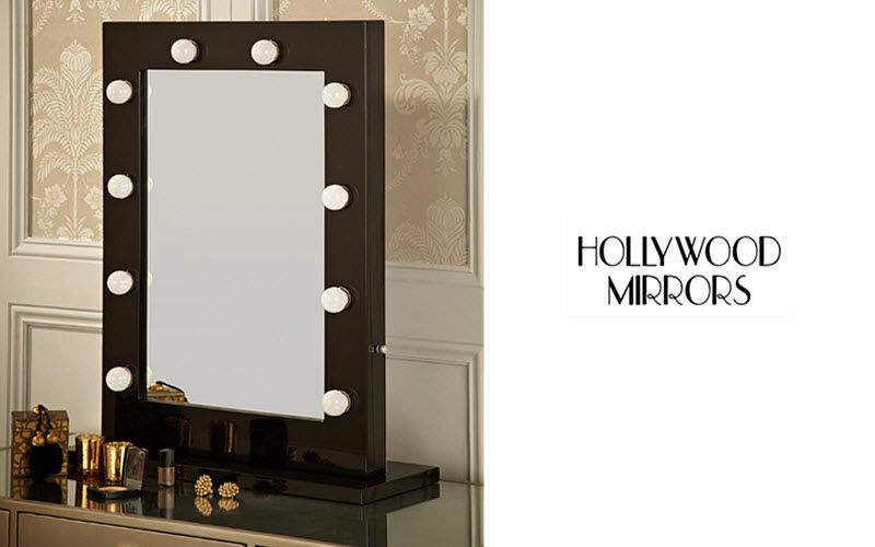 Hollywood Mirrors Illuminated mirror Mirrors Bathroom Bathroom Accessories and Fixtures  |