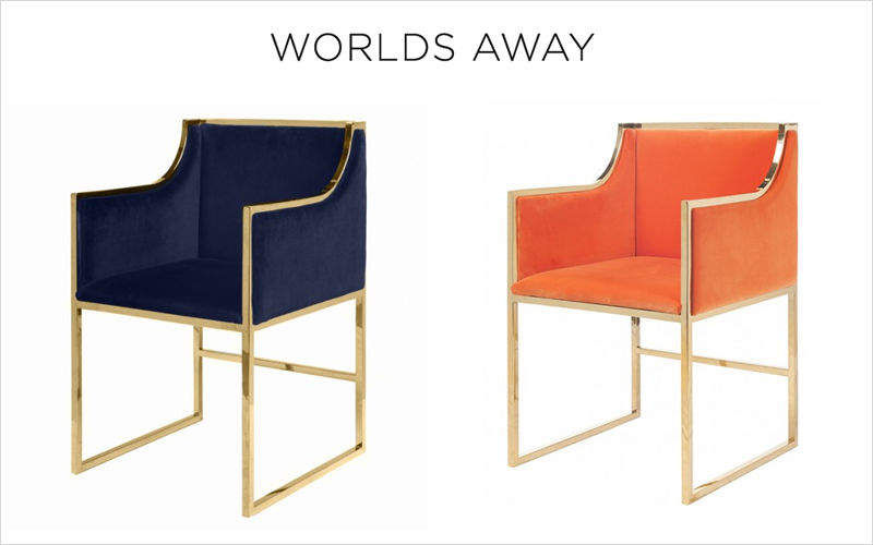 Worlds Away Armchair Armchairs Seats & Sofas  |