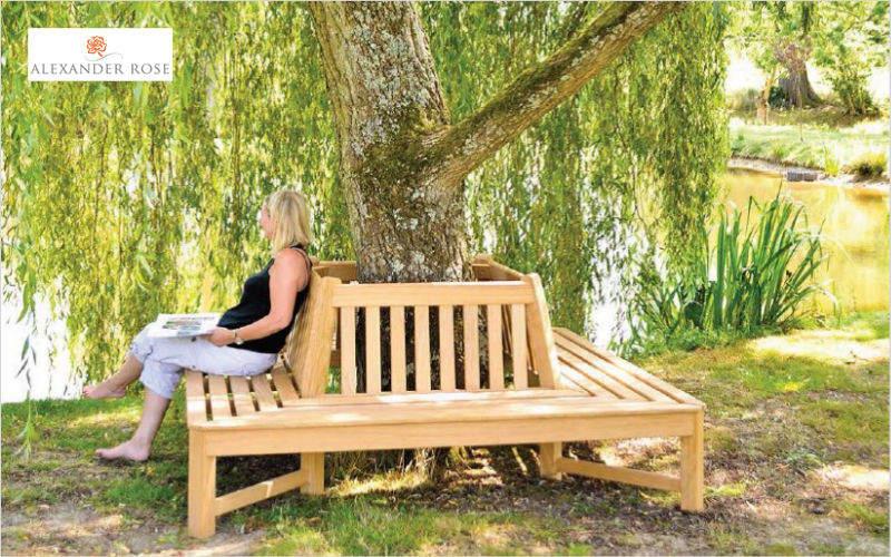 Alexander Rose Circular tree bench Garden seats Garden Furniture  |