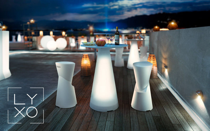 Lyxo by Veca Luminous bar table Garden tables Garden Furniture  |
