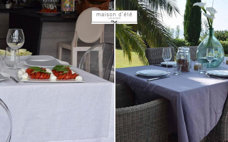MAISON D'ETE Rectangular tablecloth Tablecloths Table Linen  |