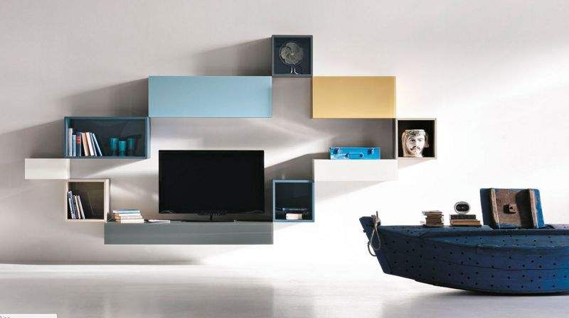 LAGO Multi-level wall shelf Shelves Storage  |