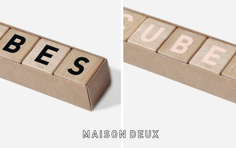 MAISON DEUX Cubes Various toys and games Games and Toys  |