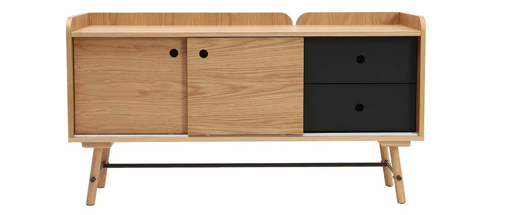 Miliboo Sideboard with pull-out shelf Cabinets and Buffets Storage  |