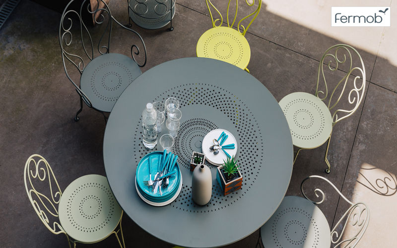 Fermob Round garden table Garden tables Garden Furniture  |